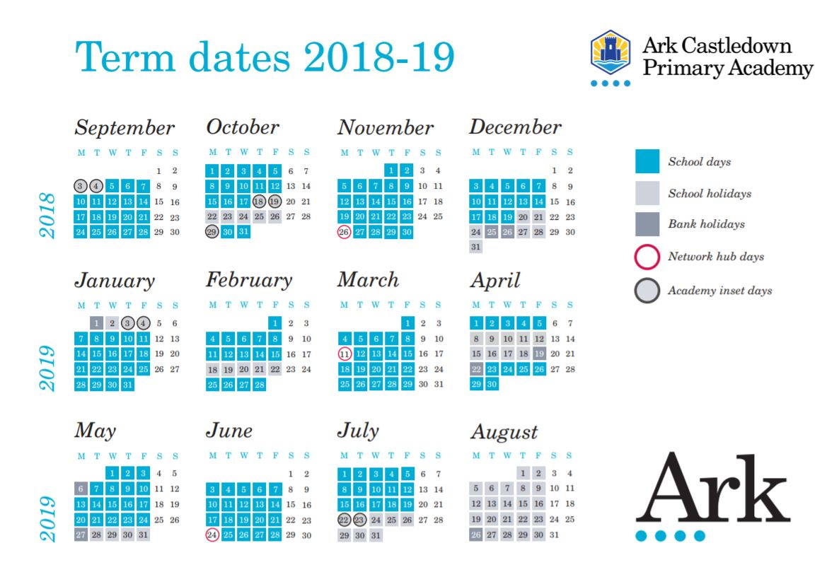 School term dates